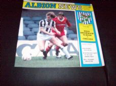 West Bromwich Albion v Chelsea, 1984/85